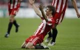 Vòng bảng Champions League: 'Bùng nổ' ở hiệp hai, Hùm xám hạ gục Roma