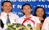 UPU trao giải nhất thi viết thư cho nữ sinh Việt Nam