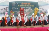 Động thổ xây dựng dự án nhà biệt thự và liên kế Khu dân cư Phú Thuận