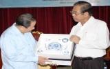 Ủy viên Bộ Chính trị Đảng Nhân dân Cách mạng Lào thăm Bình Dương