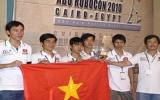 Việt Nam giành giải á quân Robocon châu Á