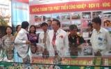 Khai mạc Triển lãm - Hội chợ thành tựu kinh tế - xã hội tỉnh Bình Dương