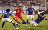 Olympic Việt Nam thắng sát nút Olympic Malaysia