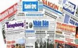 Áp thuế suất 25% cho thu nhập từ quảng cáo trên báo