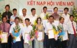 Hội doanh nhân trẻ tỉnh: Kết nạp thêm 12 hội viên mới