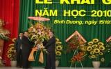 Đại học Thủ Dầu Một khai giảng năm học mới