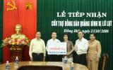 Bình Dương trao tiền, quà trị giá hơn 2 tỷ đồng cho đồng bào vùng lũ Quảng Bình