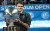 Federer vô địch Stockholm Open 2010