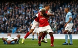 """Thi đấu hơn người, Arsenal hạ hục Man """"xanh"""" trên sân khách"""