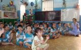 Chi bộ trường Mầm non Lê Thị Trung (TX.TDM): 5 năm đạt trong sạch vững mạnh