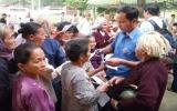 Đoàn viên thanh niên bệnh viện Đa khoa tỉnh: Chung tay vì người nghèo ở vùng sâu, vùng xa