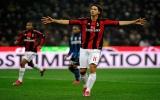 Ibrahimovic bắn hạ Inter, Milan trở lại ngôi đầu