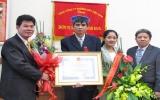 Trao huân chương dũng cảm cho lái tàu Trương Xuân Thức