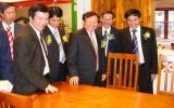 Khai mạc Hội chợ đồ gỗ và trang trí nội thất Việt Nam 2010