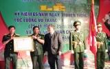 Lực lượng vũ trang tỉnh đón nhận Huân chương Bảo vệ Tổ quốc hạng nhì
