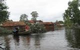 Miền Trung mưa lớn, nước các sông lên nhanh