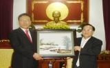 Tổng Lãnh sự danh dự Việt Nam tại Busan (Hàn Quốc) thăm Bình Dương