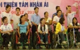Ấm lòng người khuyết tật