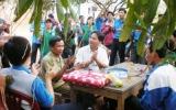 Đoàn thanh niên Thuận An giao lưu Đồn Biên Phòng 783: Thắm tình biên giới - hậu phương