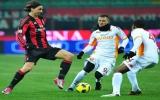 Milan bị hạ gục trên sân nhà