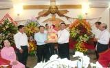 Lãnh đạo tỉnh Bình Dương: Chúc mừng Tòa Giám mục giáo phận Xuân Lộc nhân dịp Giáng sinh