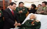 Chúc mừng Đại tướng Võ Nguyên Giáp nhân ngày thành lập quân đội