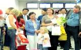 TP.HCM đón lượt khách quốc tế thứ 3 triệu