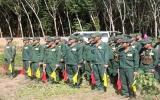 Tân Uyên: Thực hiện tốt công  tác giáo dục, huấn luyện lực lượng dân quân thường trực