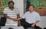 B.BD ký hợp đồng với cựu cầu thủ CLB Panathinaikos
