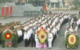Lãnh đạo Tỉnh ủy, HĐND, UBND, Ủy ban MTTQVN tỉnh viếng Nghĩa trang liệt sĩ nhân kỷ niệm 66 năm Ngày thành lập Quân đội Nhân dân Việt Nam