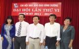 Chi hội Nhà báo Báo Bình Dương tổ chức đại hội nhiệm kỳ 2011 - 2013