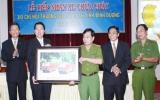 Hiệp hội Thương gia Đài Loan tặng Bình Dương 2 xe chữa cháy