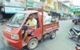 """Xe 4 bánh gắn động cơ mô tô: Chiếc """"cần câu cơm"""" của người nghèo!"""