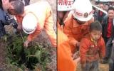 Bé 4 tuổi sống sót sau 2 ngày mất tích dưới giếng