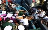 Vận chuyển 20 tấn hàng hóa, quà Tết tới các đảo