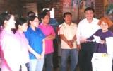 Đoàn cơ sở Vietcombank Bình Dương: Nhận phụng dưỡng một mẹ liệt sĩ suốt đời
