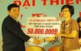 Công ty cổ phần thép  Đại Thiên Lộc : Trao tặng Quỹ Vì người nghèo tỉnh 50 triệu đồng