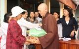 Chùa Phước An, Hội Phật giáo TX.TDM: Tặng 200 phần quà tết cho người nghèo