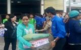 Công ty Tâm Mặt Trời tặng 140 phần quà cho người nghèo