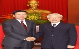 Tổng Bí thư Nguyễn Phú Trọng tiếp khách