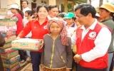 Hội chữ thập đỏ tỉnh: Thăm và tặng quà tết cho người nghèo trong và ngoài tỉnh