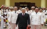 Tổng Bí thư chúc Tết lực lượng Công an nhân dân