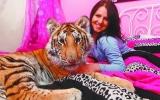 Thiếu nữ 17 tuổi ngủ chung với hổ