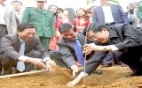 Chủ tịch nước Nguyễn Minh Triết phát động Tết trồng cây