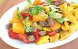 Đỡ ngán với thịt bò, rau củ