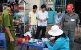 Lực lượng quản lý thị trường: Kiểm tra, xử phạt vi phạm quy định về niêm yết giá khu vực chùa Bà