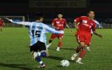 Vòng 3 V-League: B.Bình Dương thua đau trên sân nhà