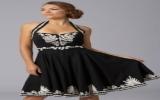 Váy liền cho dáng tròn trịa