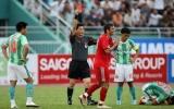 Kết quả vòng 4 V-League 2011, N.Sài Gòn – B.Bình Dương 3-2: Thiếu người, B.Bình Dương lại bại trận