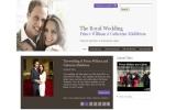 Website đám cưới của Hoàng tử William